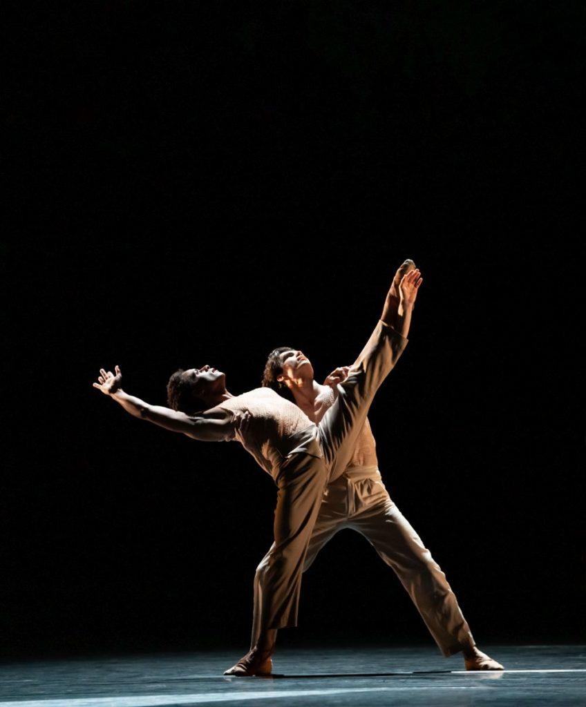 "7. M.Sambé and S.Węgrzyn, ""Optional Family: A Divertissement"" by K.Abraham, The Royal Ballet 2021 © B.Cooper"