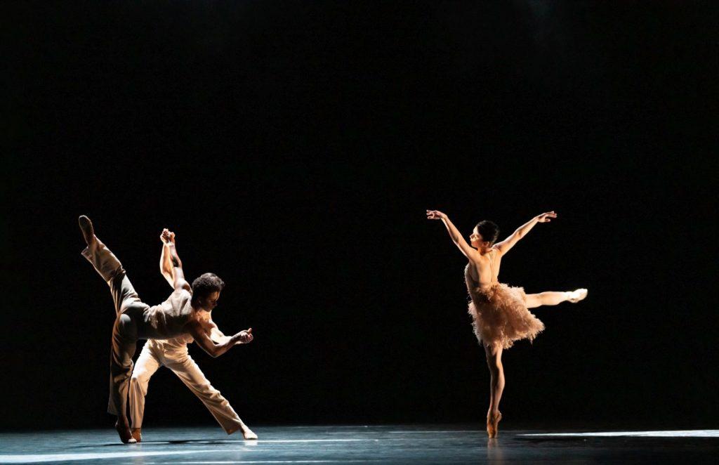 "6. S.Węgrzyn, M.Sambé, and N.Osipova, ""Optional Family: A Divertissement"" by K.Abraham, The Royal Ballet 2021 © B.Cooper"