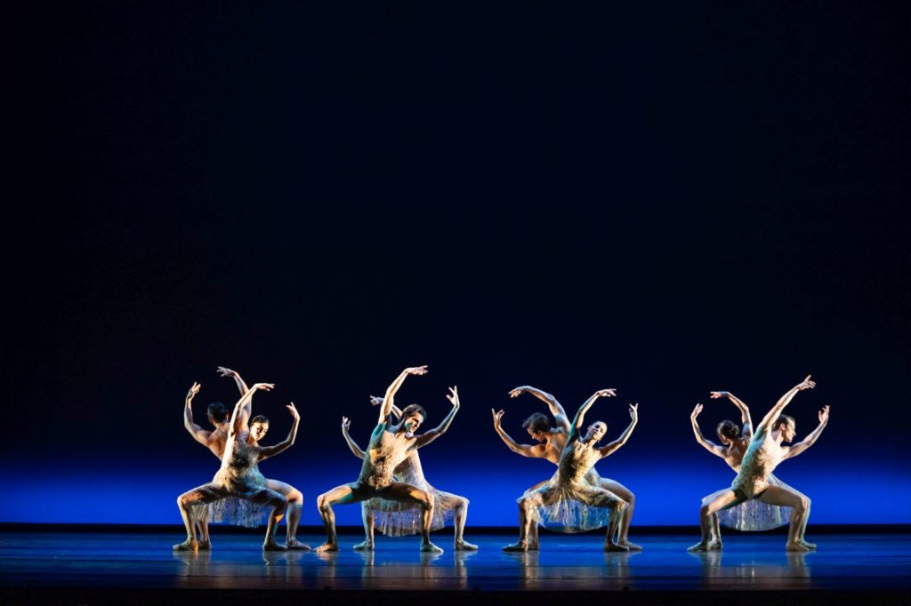 """1. Artists of the Royal Ballet, """"Within the Golden Hour"""" by C.Wheeldon, The Royal Ballet 2021 © B.Cooper"""