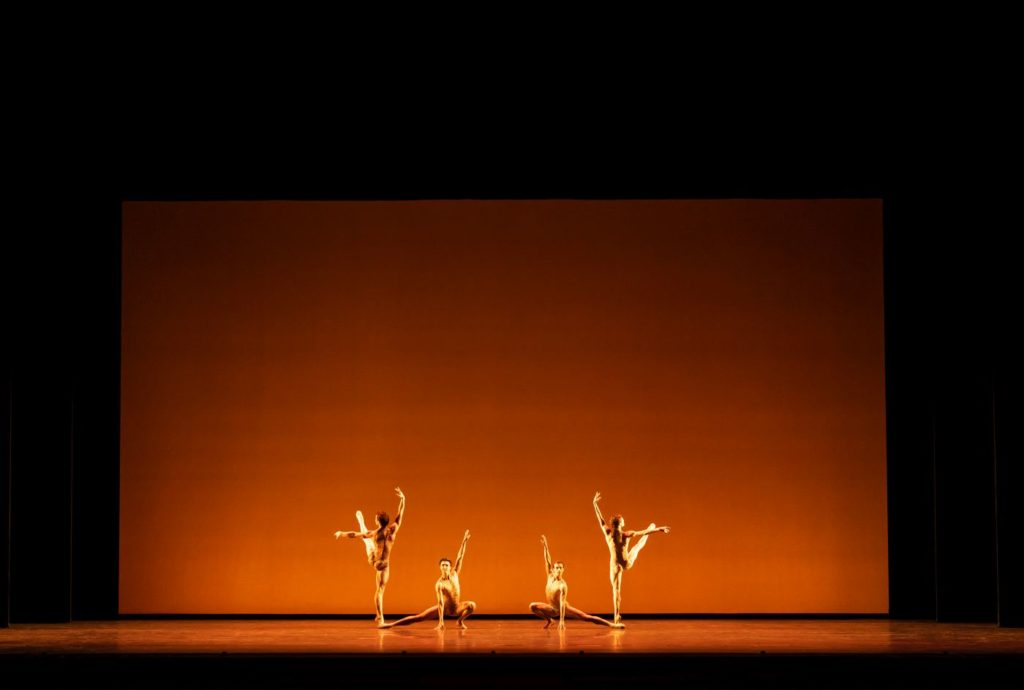 """2. Artists of the Royal Ballet, """"Within the Golden Hour"""" by C.Wheeldon, The Royal Ballet 2021 © B.Cooper"""