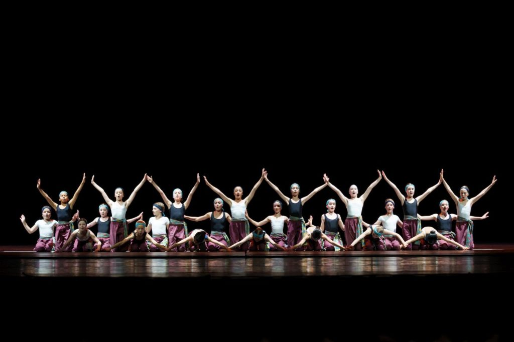 """1. Students of the Dutch National Ballet Academy, """"10 Years Tailor-Made"""" by I.Lešić, Dutch National Ballet Academy 2021 © S.Derine"""
