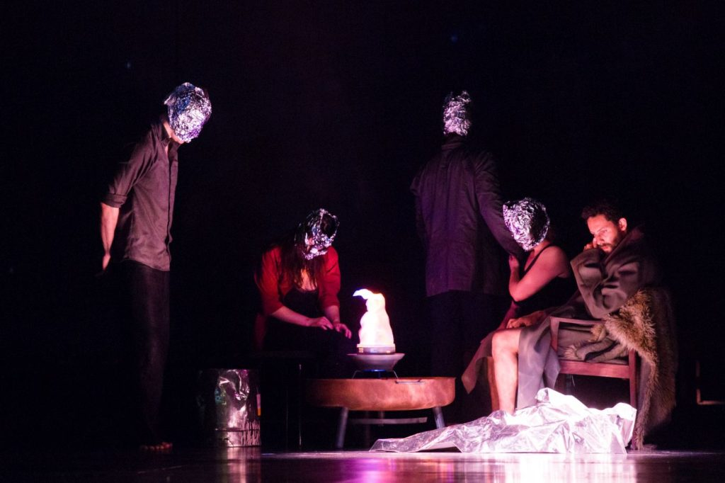 "10. J.Fredrickson and ensemble, ""Sleeping Woman"" by R.Behr, Tanztheater Wuppertal Pina Bausch 2021 © E.Rodoulis"