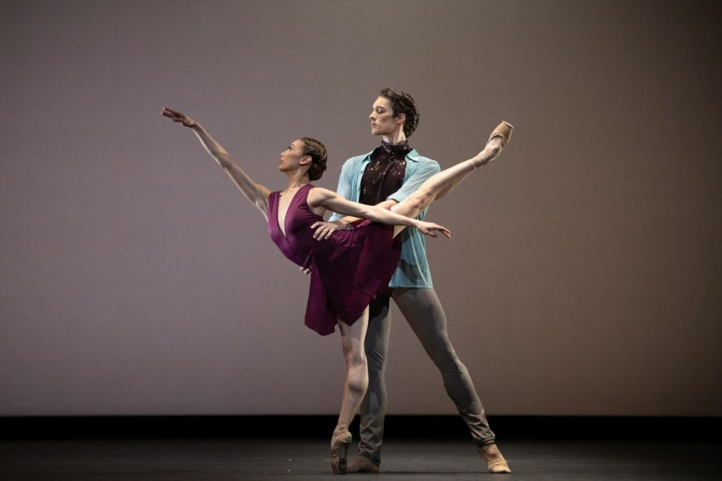 """10. M.Sasaki and L.Bjørneboe Brændsrød, """"Anemoi"""" by V.Zucchetti, The Royal Ballet 2021 © A.Pennefather"""