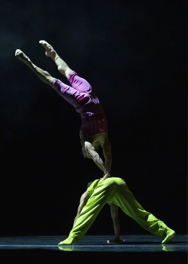"""2. E.Nunes and A.Fernández, """"Blitirí"""" by G.Montero, Ballet of the State Theater Nuremberg 2021 © J.Vallinas"""
