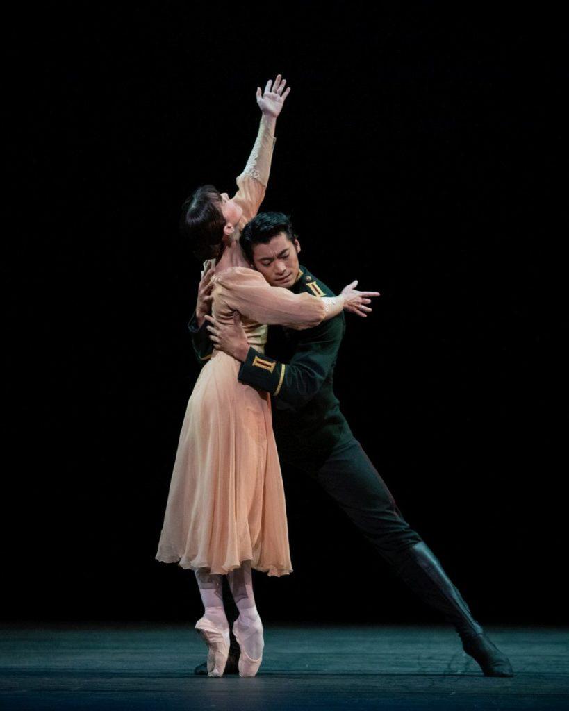 "3. L.Morera and R.Hirano, ""Winter Dreams"" by K.MacMillan, The Royal Ballet 2021 © A.Pennefather"