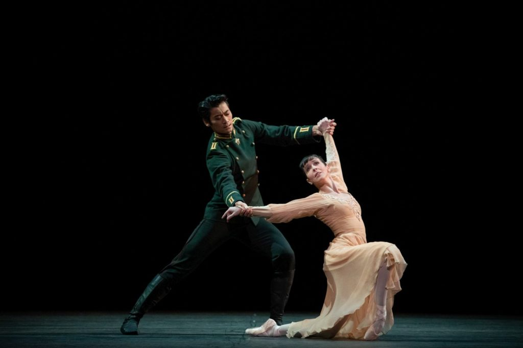 "4. L.Morera and R.Hirano, ""Winter Dreams"" by K.MacMillan, The Royal Ballet 2021 © A.Pennefather"