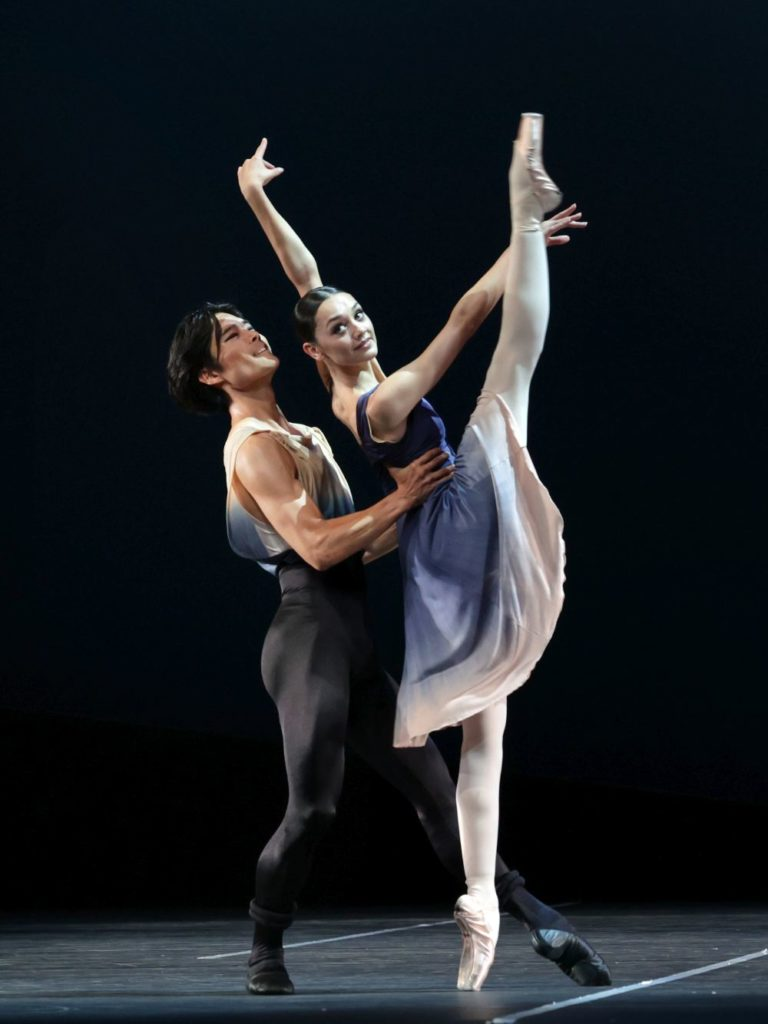 "9. Y. Gyu Choi and N. Burer, ""7th Symphony"" by T. van Schayk, Dutch National Ballet 2021 © H. Gerritsen"