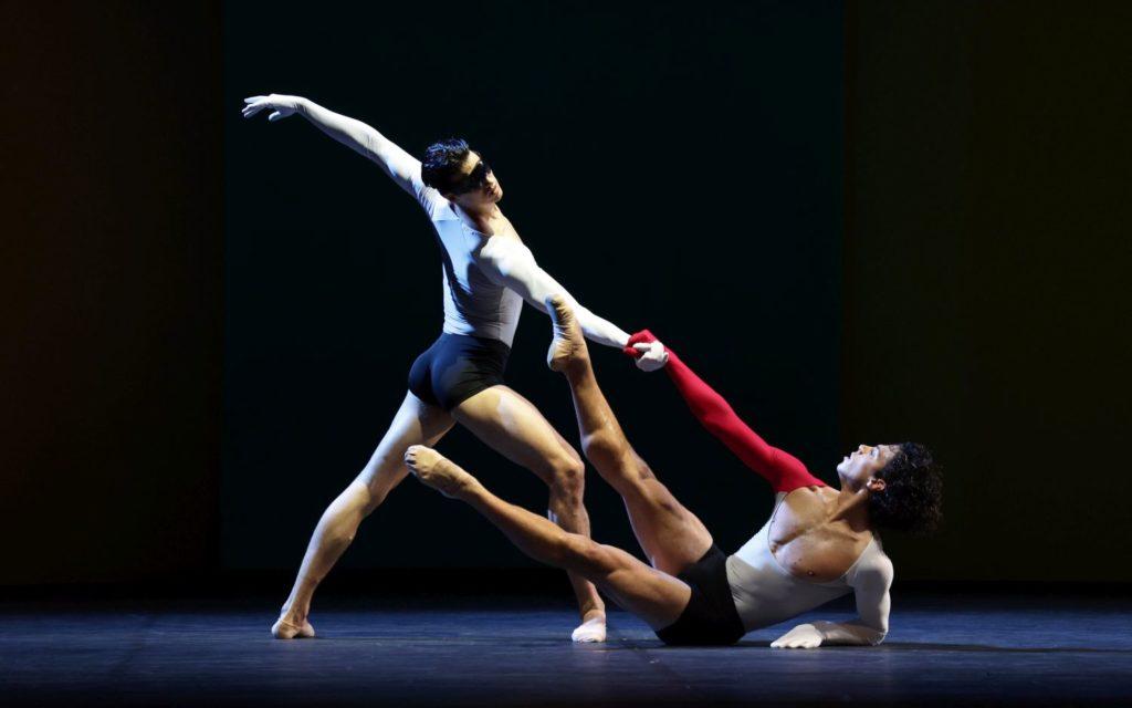 """1. M. ten Kortenaar and T. van Poucke, """"Lucifer Studies"""" by T. van Schayk, Dutch National Ballet 2021 © H. Gerritsen"""