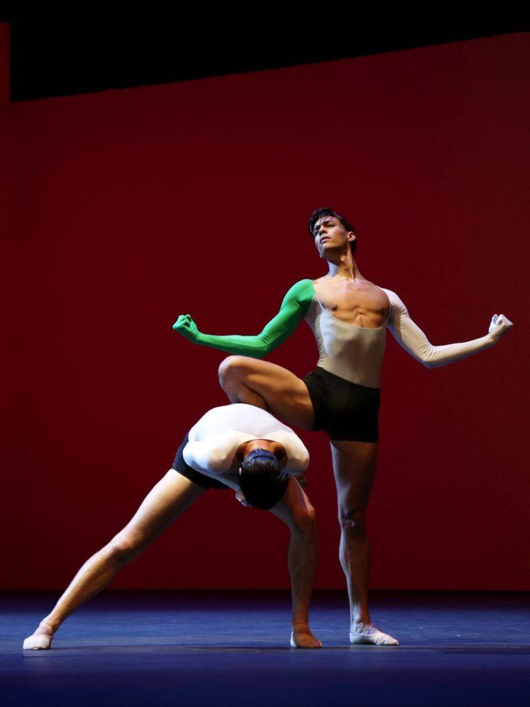 """4. M. ten Kortenaar and N. Brhane, """"Lucifer Studies"""" by T. van Schayk, Dutch National Ballet 2021 © H. Gerritsen"""
