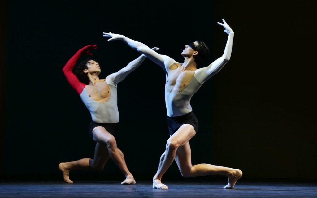 """3. T. van Poucke and M. ten Kortenaar, """"Lucifer Studies"""" by T. van Schayk, Dutch National Ballet 2021 © H. Gerritsen"""