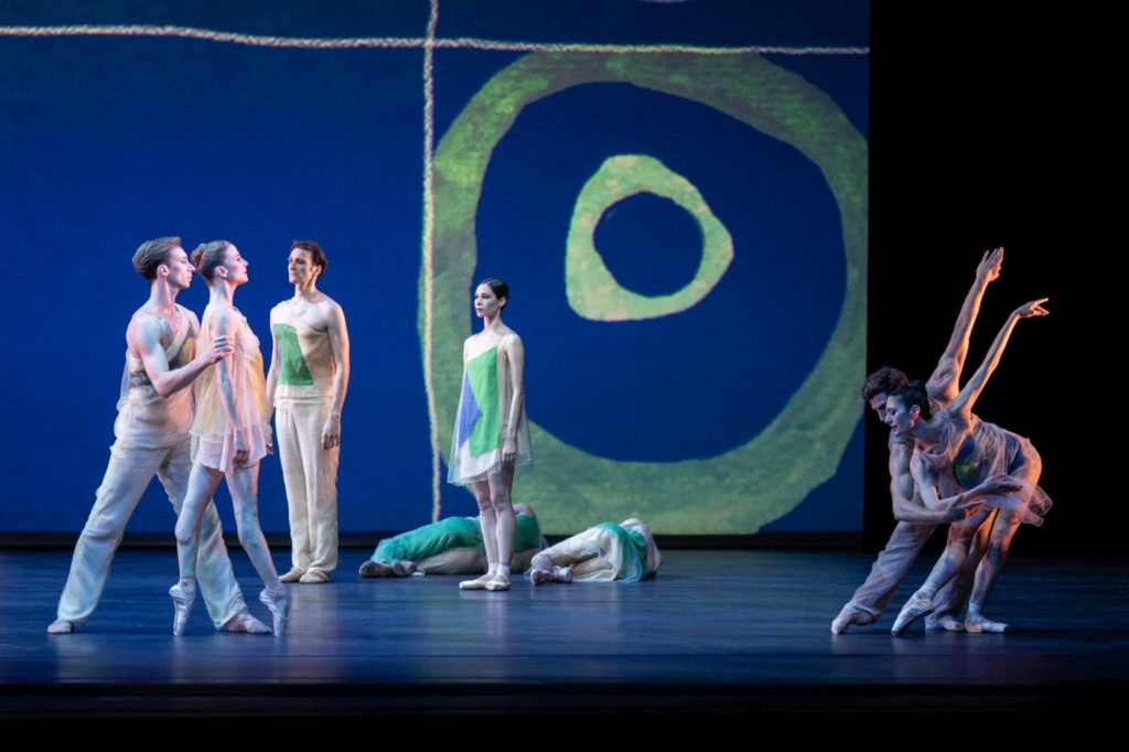 """4. Ensemble, """"Pictures at an Exhibition"""" by A.Ratmansky, Vienna State Ballet 2021 © Vienna State Ballet / A.Taylor"""