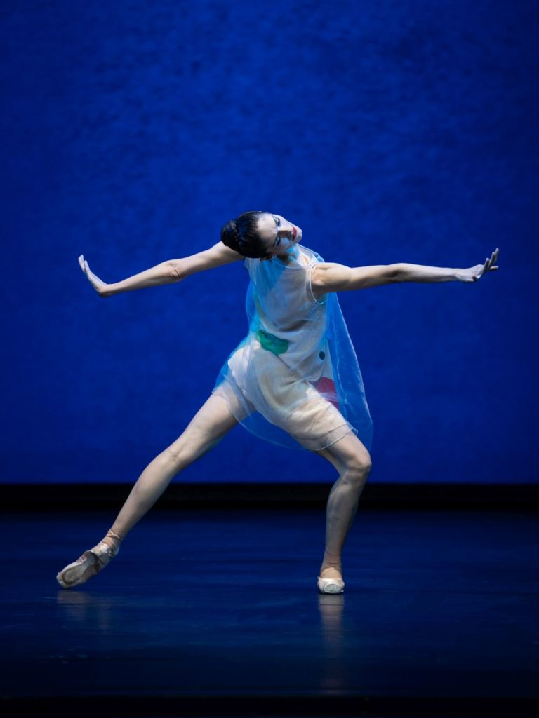 """5. K.Papava, """"Pictures at an Exhibition"""" by A.Ratmansky, Vienna State Ballet 2021 © Vienna State Ballet / A.Taylor"""