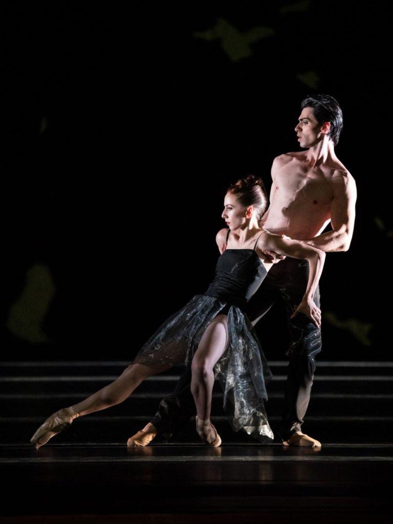 """8. F.McGee and C.Failla, """"Sinfonie Nr. 15"""" by M.Schläpfer, Vienna State Ballet 2021 © Vienna State Ballet / A.Taylor"""