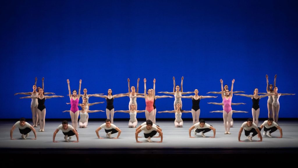 "3. Ensemble, ""Symphony in Three Movements"" by G.Balanchine © The George Balanchine Trust, Vienna State Ballet 2021 © Vienna State Ballet / A.Taylor"
